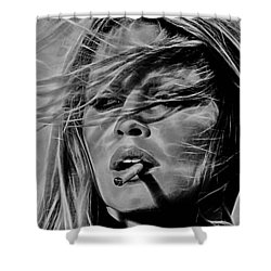 Brigitte Bardot Collection Shower Curtain