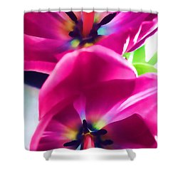 Shower Curtain featuring the photograph Brilliance by Roberta Byram