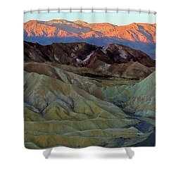 Brilliant And Subdued Shower Curtain