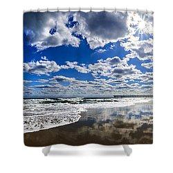 Brilliant Clouds Shower Curtain