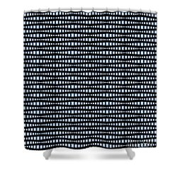 Brilliant Diamond Pattern Shower Curtain