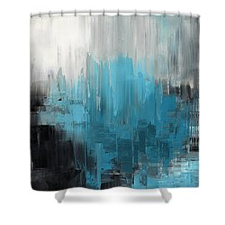Shower Curtain featuring the painting Brilliant Dreamer by Tatiana Iliina