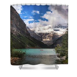 Brilliant Lake Louise Shower Curtain