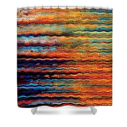 Brilliant Waves Shower Curtain