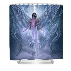 Shower Curtain featuring the digital art Bringer Of Light by Uwe Jarling