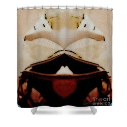 Bringing Dinner Shower Curtain by Kathie Chicoine