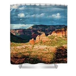 Brins Ridge 04-044pan N Shower Curtain