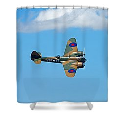 Bristol Blenheim 1 Riat 2015 Shower Curtain