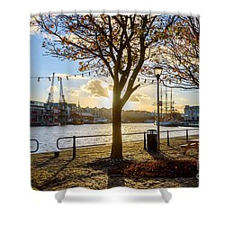 Bristol Harbour Shower Curtain