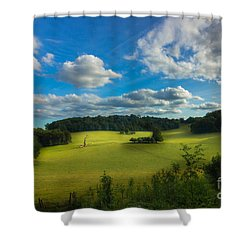 British Countryside Shower Curtain