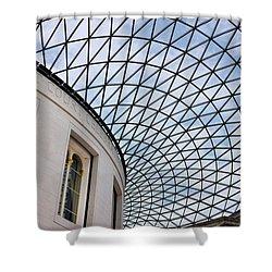 British Museum Shower Curtain by James David Phenicie