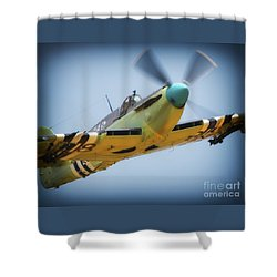 British Royal Navy Fairey Firefly Mkvi Shower Curtain