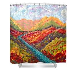 Brivant Shower Curtain by Holly Carmichael