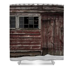 Broad Side Of A Barn Shower Curtain