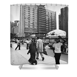 Broad Street -- Fmbn Shower Curtain