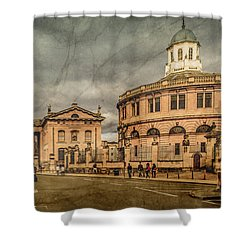 Oxford, England - Broad Street Shower Curtain