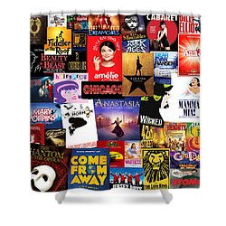 Broadway 15 Shower Curtain
