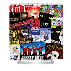 Broadway 8 Shower Curtain