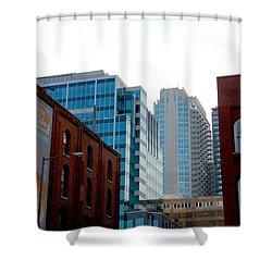 Broadway Nashville Tn Shower Curtain by Susanne Van Hulst