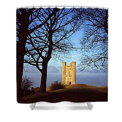 Broadway Tower, Worcestershire Shower Curtain