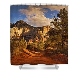 Broken Arrow Trail Pnt Shower Curtain