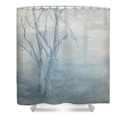 Broken But Still Standing Shower Curtain
