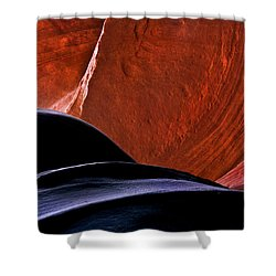 Broken Dial Shower Curtain by Mike  Dawson
