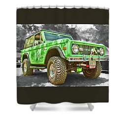Bronco 1 Shower Curtain