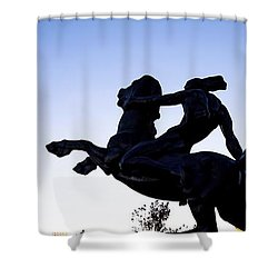 Bronco Shower Curtain