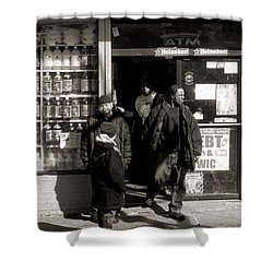 Bronx Scene Shower Curtain