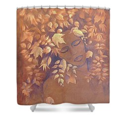 Bronze Beauty Shower Curtain