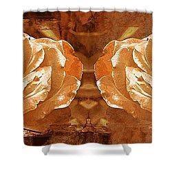 Bronzed Shower Curtain