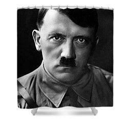 Brooding Portrait Of Adolf Hitler Heinrich Hoffman Photo Circa 1935 Shower Curtain