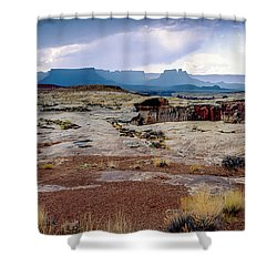 Brooding Sky Summer Storm Shower Curtain