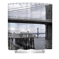 Brooklyn Bridge II Shower Curtain