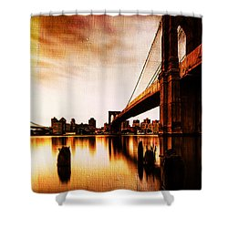 Brooklyn Bridge Ny 01 Shower Curtain