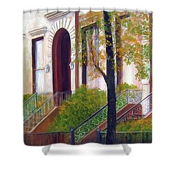 Brooklyn Brownstone Corridor 2 Shower Curtain