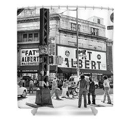 Brooklyn Fat Albert  Shower Curtain