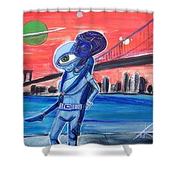 Brooklyn Play Date Shower Curtain