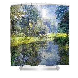 Brookside Shower Curtain