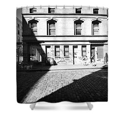 Shower Curtain featuring the photograph Broome Street Nyc by Dave Beckerman