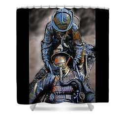 Brothers II Shower Curtain
