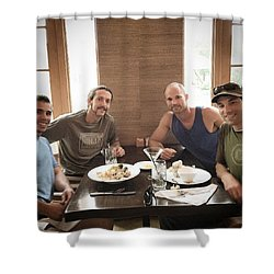 Brother Wolves Shower Curtain