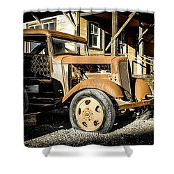 Vintage 1935 Chevrolet Shower Curtain