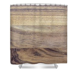 Shower Curtain featuring the photograph Brown Rubber Wooden Tray Handmade In Asia by Jingjits Photography