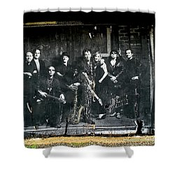 Bruce And The E Street Band Shower Curtain