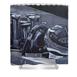 Bruce Mclaren Canam Shower Curtain
