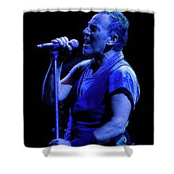 Shower Curtain featuring the photograph Bruce Springsteen-penn State 4-18-16 by Jeff Ross