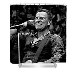 Shower Curtain featuring the photograph Bruce Springsteen - Pittsburgh by Jeff Ross