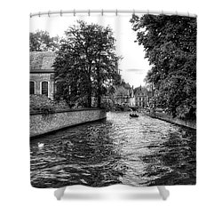 Bruges Bw2 Shower Curtain